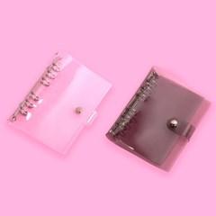 루카랩 6공다이어리 아카이브 PVC 커버 베이직 2종