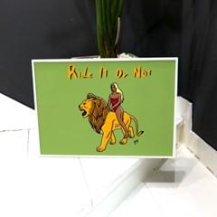A-RIDING A LION(YOYO)