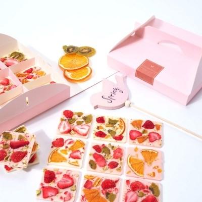 딸기 바크초콜릿만들기세트 DIY 초콜렛 발렌타인데이