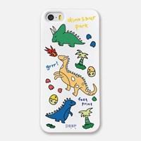 Dinosaur park - white