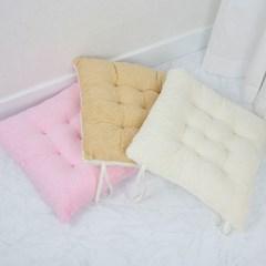 빵빵이 양털 극세사 방석 - 3color