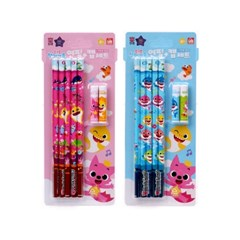 핑크퐁 5본연필+연필캡세트_(1350971)