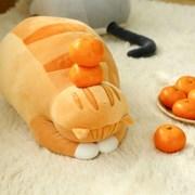 모찌모찌 고멘네코 식빵뚱냥 인형 - 치즈태비