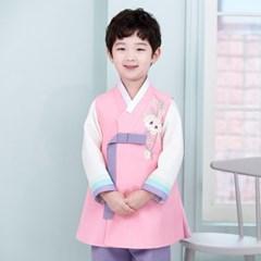 [한예빔] 분홍한빔 HB-5038 아동한복/남아한복