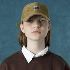 [Ncover] Corduroy cap-brown