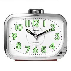 카파 T872 레드 강력한 내장벨알람 야광문자판 탁상시계