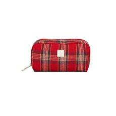 tartan check pouch