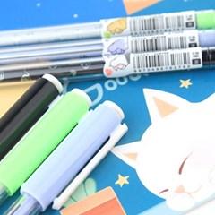 고양이 핑거하트 젤펜