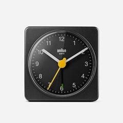 BRAUN Travel Alarm Clock BC02 Black