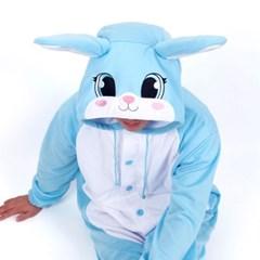 사계절 동물잠옷 토끼 (블루)