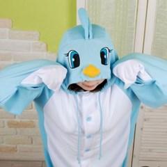 사계절 동물잠옷 파랑새 (블루)