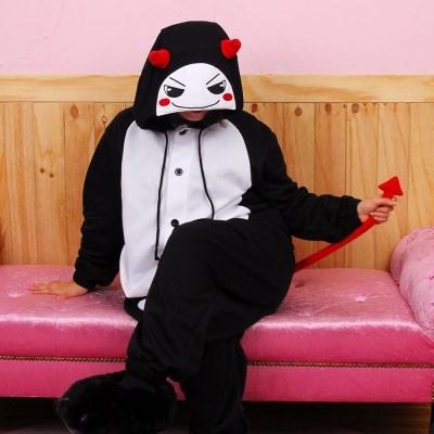 사계절 동물잠옷 악마 (블랙)