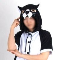 반팔 동물잠옷 표범 (블랙) / 흑표범