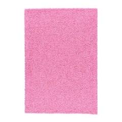 이케아 스크래치 HAMPEN 러그 (133*195/핑크)