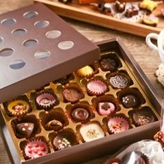 초콜릿 만들기 세트 (20구) - 브라운 원형_(1199612)