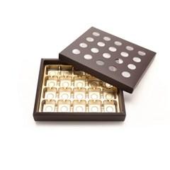 초콜릿박스 20구 브라운 원형_(1199617)