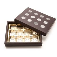 초콜릿박스 12구 브라운 원형_(1199621)