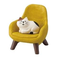 [데꼴] 미니어쳐 인테리어소품/소파/고양이와의자 2종