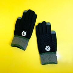더 따뜻한 장갑 - 블랙