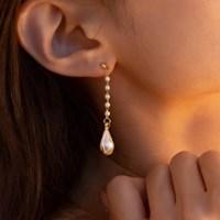preal water drop earrings