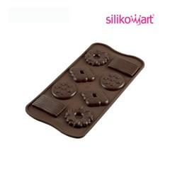 실리코마트_초콜릿만들기_비스킷