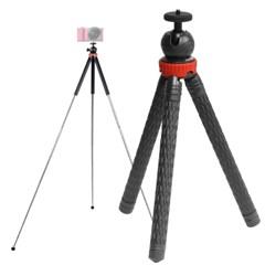 본젠 KM-837 하이엔드 컴팩트 미니 삼각대 (카메라 액션캠 등)