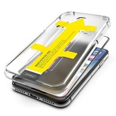 뮤즈캔 아이폰XR 원터치 6D 풀커버 강화유리