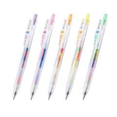 제브라 사라사클립 마블 SARASA CLIP Marble color 5색(10개)선택