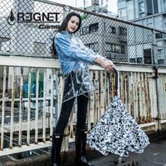 [텐바이텐 단독] 유니크한 카모패턴 정품 거꾸로 자동 우산 레그넷
