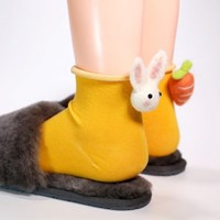 [갓샵 핵인싸템! 토끼당근양말 4color] 귀여운예쁜동물삭스