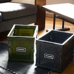 일본 MERCROS 접이식 폴딩 컨테이너 박스 M  20L