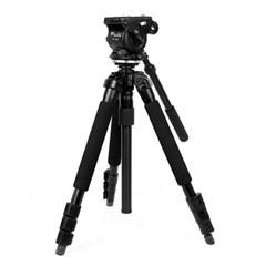 슬릭 PRO 340DX 삼각대 + 웨이펑 WF-500S 비디오 헤드 패키지