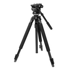 슬릭 PRO 330DX 삼각대 + 웨이펑 WF-500S 비디오 헤드 패키지
