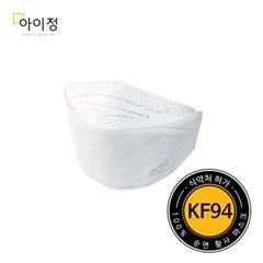 KF94 (10매)황사마스크 초미세먼지용 (방역용) F9-W_(2352562)