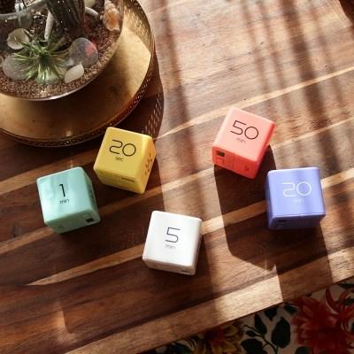 [무아스] 큐브타이머 (2세대) - 세상에서 가장 쉬운 타이머