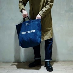 Tools to Liveby TOTE BAG (DENIM)