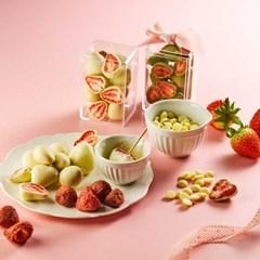 [피나포레] 발렌타인 눈꽃 딸기 수제 초콜릿 만들기 세트