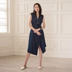 [디와이에스] MARION DRESS INDIGO