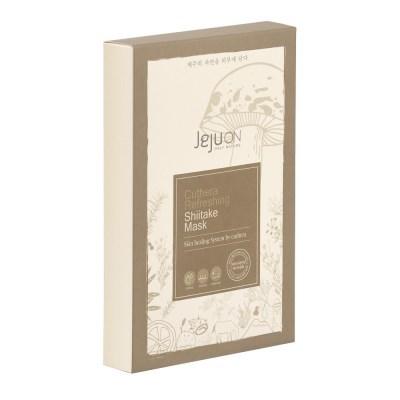 제주온 큐테라 리프레싱 표고버섯 마스크(6개입)