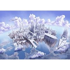 1000조각 목재 직소퍼즐▶ 하늘 도시 [WPK1000-32]