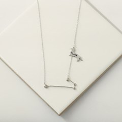 Constellation silhouette necklace