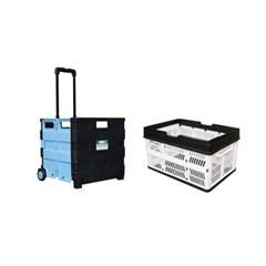코드리빙 접이식카트+접이식박스 FC35KB+FMB3_(1159127)