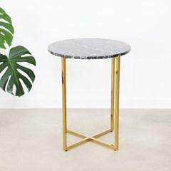 Kelly 이태리 천연대리석 원형 티 테이블 (프리오더)