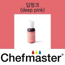 셰프마스터 리쿠아젤 식용색소 - 딥 핑크 20g