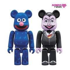[KINKI ROBOT]100%BEARBRICK COUNT VON COUNT & GROVER 2PACK (19010