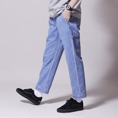 PL058_UBDTY Denim Banding Pants_Light Blue