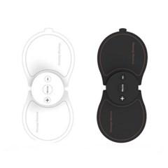 [초강력 미니 마사지기] 무선안마기 미니휴대용 LED 패드