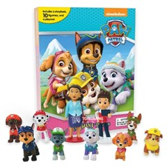 PAW PATROL GIRLS MY BUSY BOOK 피규어북