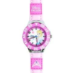 디즈니 JTD-17 엘사 시계 연핑크_(885257)