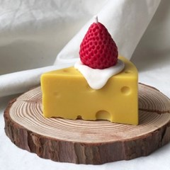 딸기 치즈 캔들